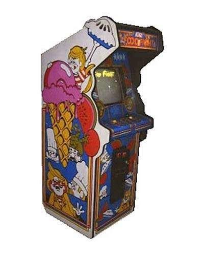 Food Fight arcade game at Joystix