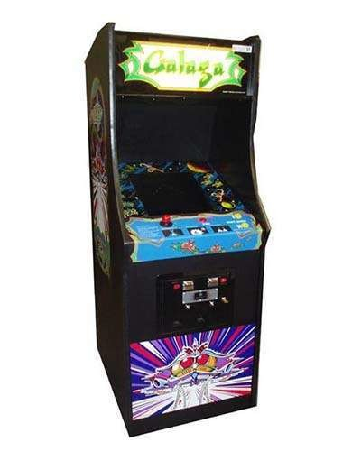 Galaga arcade game at Joystix