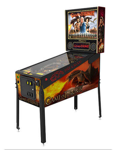 Game of Thrones Limited Edition pinball at Joystix 2