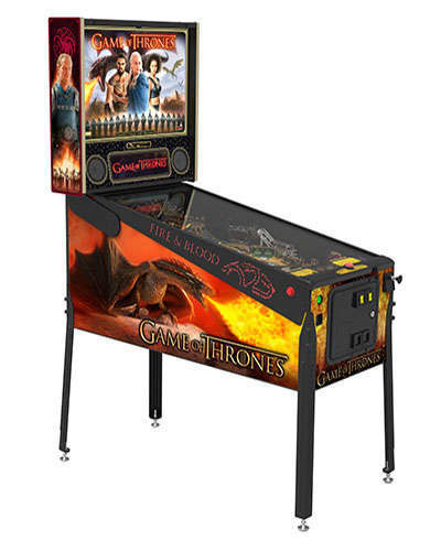 Game of Thrones Limited Edition pinball at Joystix
