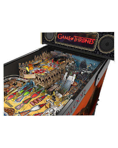 Game of Thrones Limited Edition pinball details at Joystix 1