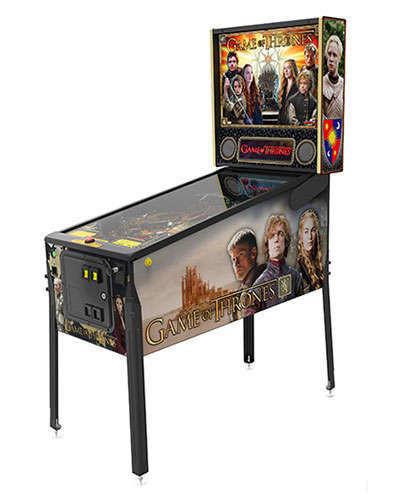 Game of Thrones Pro pinball at Joystix 2