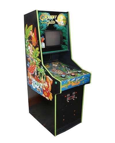 Granny and The Gators arcade game at Joystix