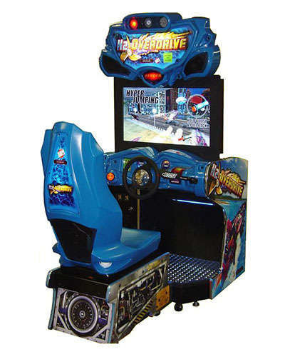 H2 Overdrive racing game at Joystix