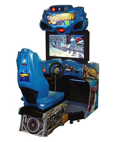 H2 Overdrive racing game at Joystix