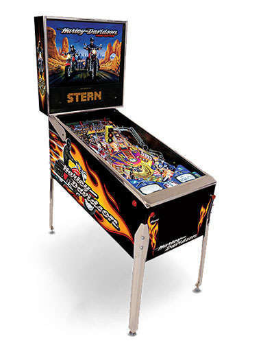 Harley Davidson 3rd Edition pinball at Joystix