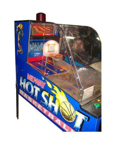 Hot Shot Basketball game at Joystix