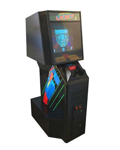 I Robot arcade game at Joystix