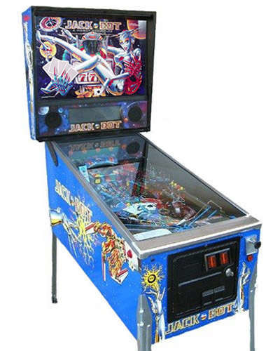 Jackbot pinball at Joystix