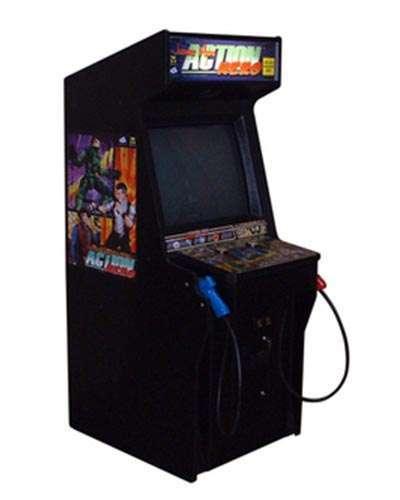 Johnny Nero Action Hero game at Joystix