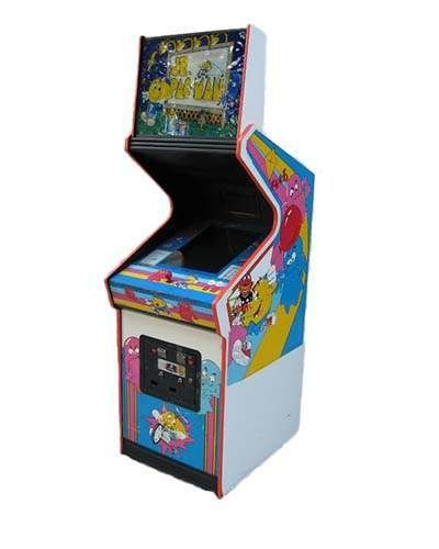 Jr Pac Man arcade game at Joystix