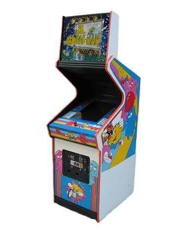 Jr Pac Man arcade game at Joystix