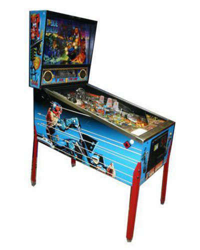 Judge Dredd pinball at Joystix