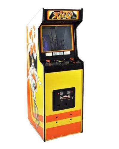 Kick Man arcade game at Joystix