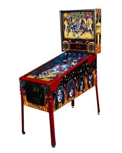 Kiss Limited Edition Pinball at Joystix