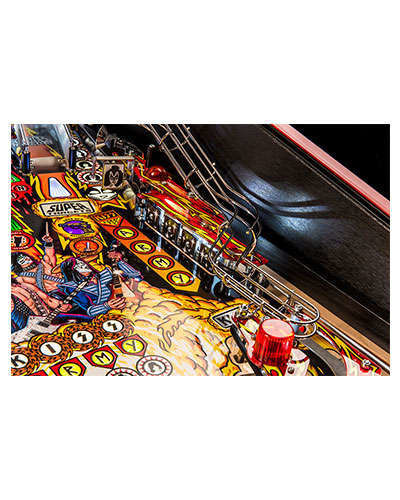 Kiss Limited Edition pinball details at Joystix 2