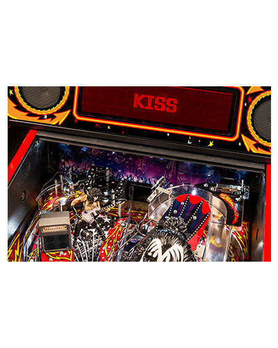 Kiss Limited Edition pinball details at Joystix 6