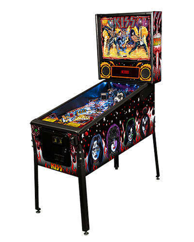 Kiss Premium Pinball at Joystix