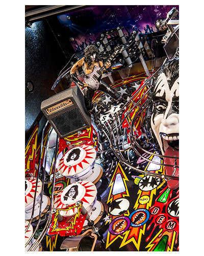 Kiss Premium pinball details at Joystix 3