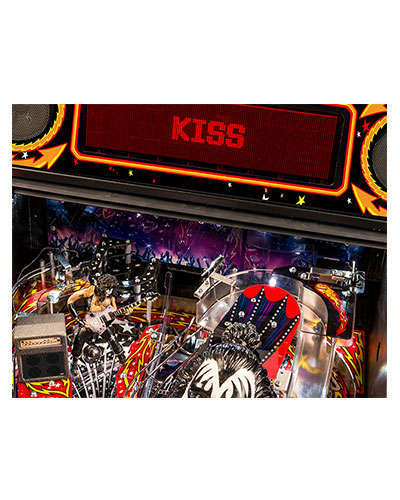 Kiss Premium pinball details at Joystix 4