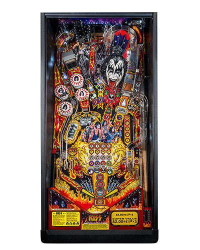 Kiss Premium pinball playfield at Joystix