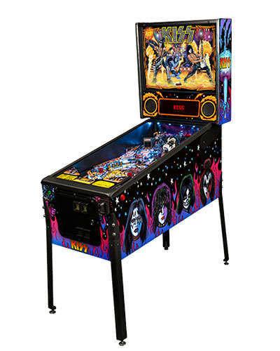 Kiss Pro pinball machine at Joystix