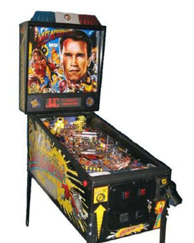 Last Action Hero pinball at Joystix