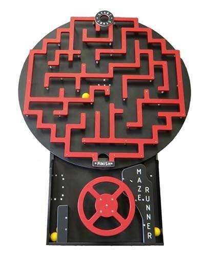 Maze Runner arcade game at Joystix