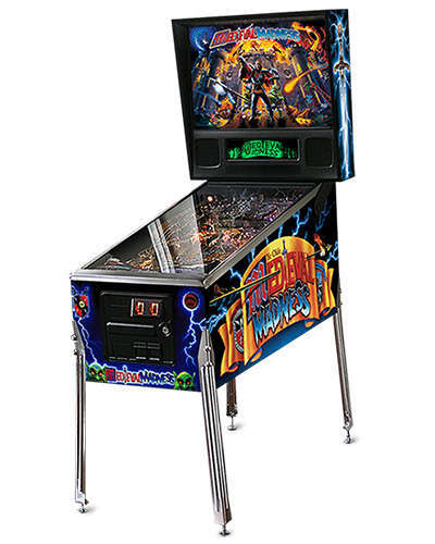 Medieval Madness Remake pinball and Joystix