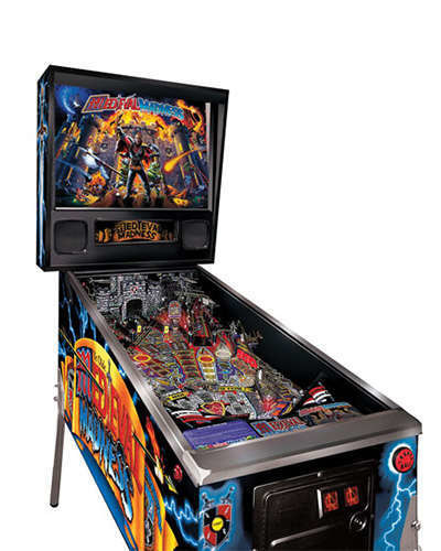 Medieval Madness pinball at Joystix