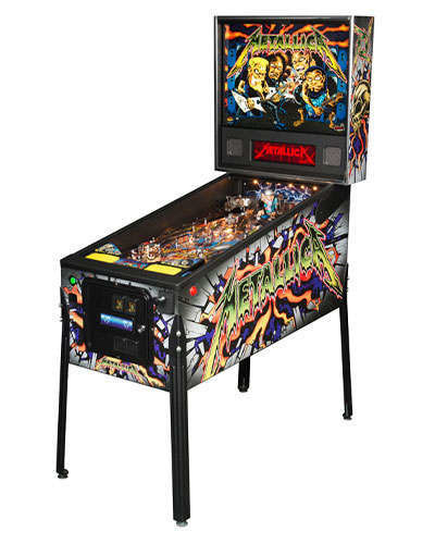 Metallica Pro Pinball at Joystix