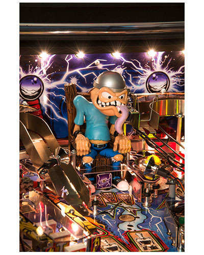 Metallica Pro pinball details at Joystix 1