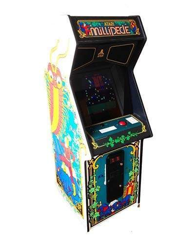 Millipede arcade game at Joystix