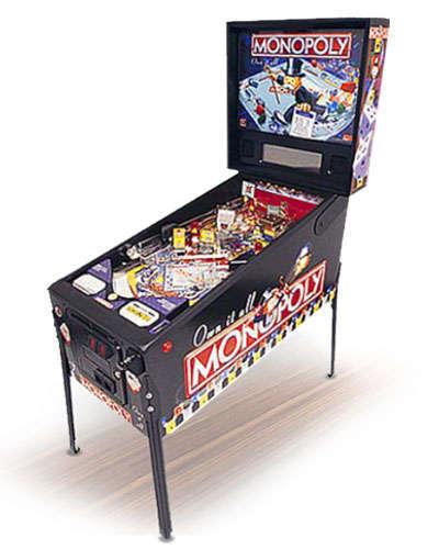 Monopoly pinball at Joystix