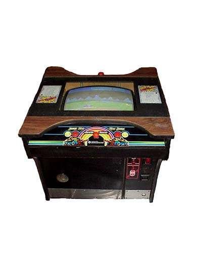 Moon Patrol cocktail arcade game at Joystix