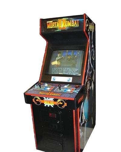 Mortal Kombat 2 game at Joystix