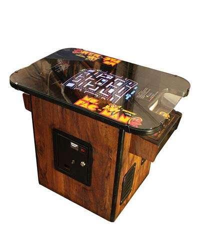 Ms Pac Man cocktail arcade game at Joystix