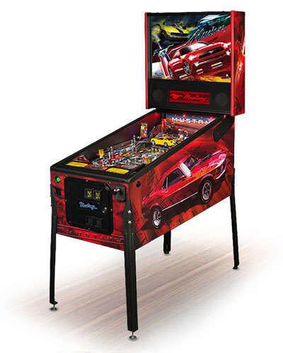 Mustang Pro pinball at Joystix