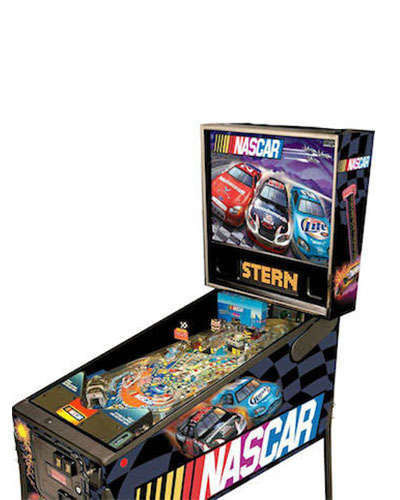 Nascar pinball at Joystix