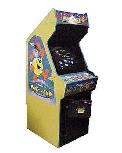 Pac Land arcade game at Joystix