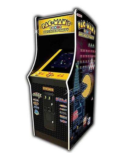 Pac Man Arcade Party game at Joystix