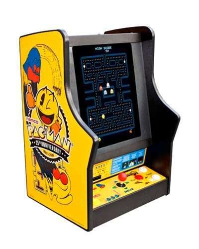 Pac Man Galaga 25th Anniversary game at Joystix
