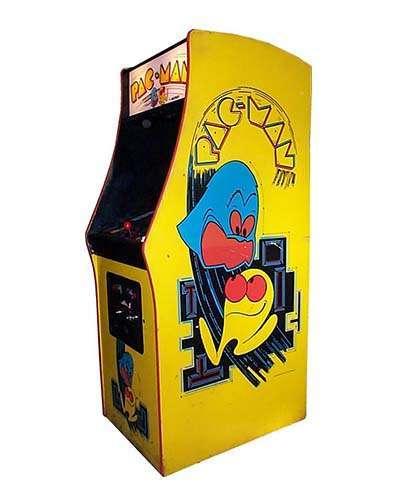 Pac Man arcade game at Joystix