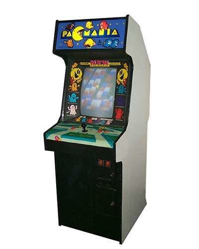 PacMania arcade game at Joystix