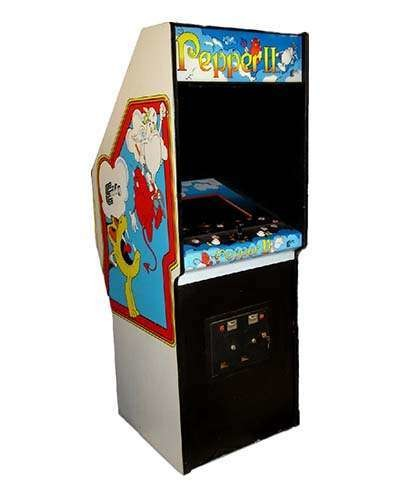 Pepper II arcade game at Joystix