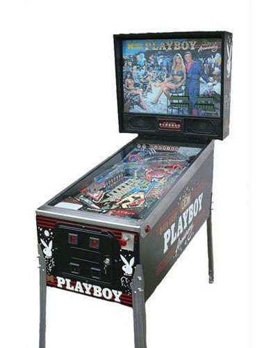 Playboy 35th Anniversary pinball at Joystix