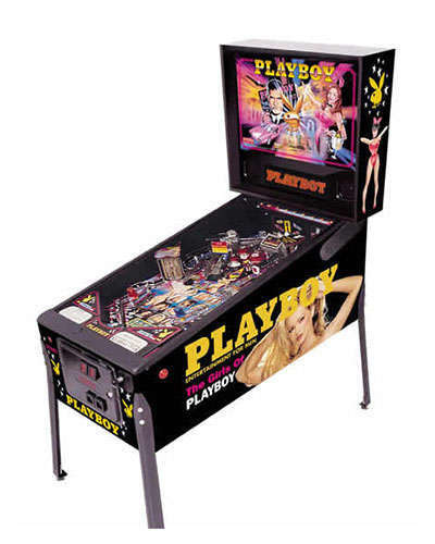 Playboy-HUO-pinball-at-Joystix