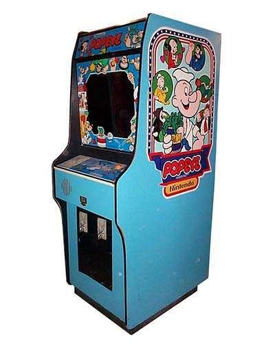Popeye arcade game at Joystix