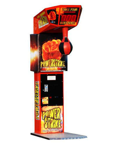 Power Strike arcade game at Joystix