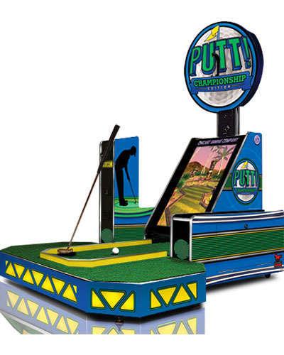 Putt Championship Edition game at Joystix